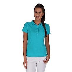 Regatta - Aqua fortunella polo shirt