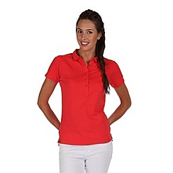 Regatta - Coral blush fortunella polo shirt
