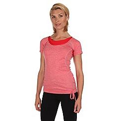 Regatta - Coral blush breakbar drawcord t-shirt