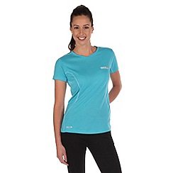 Regatta - Blue luray quick drying t-shirt