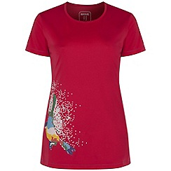 Regatta - Pink fingal printed t-shirt
