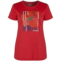 Regatta - Coral blush fingal printed t-shirt