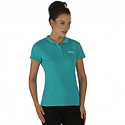 Regatta - Teal Maverik polo t-shirt