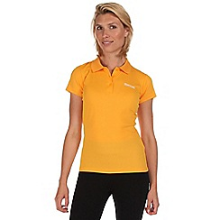 Regatta - Yellow maverik polo t-shirt