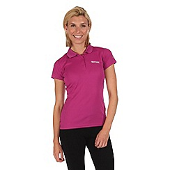 Regatta - Purple maverik polo t-shirt