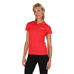 Regatta - Coral blush maverik polo t-shirt