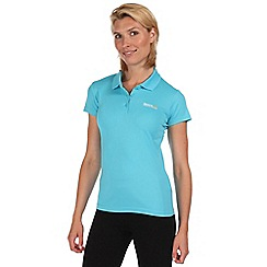 Regatta - Blue maverik polo t-shirt