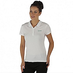 Regatta - White Maverik polo t-shirt