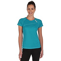 Regatta - Blue volito lightweight t-shirt