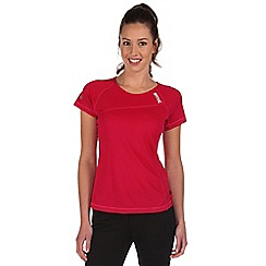 Regatta - Dark cerise volito lightweight t-shirt