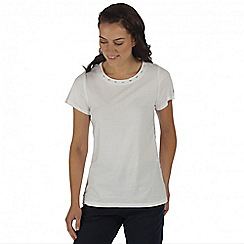 Regatta - White Aleesha top