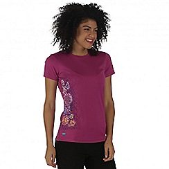 Regatta - Purple Fingal t-shirt