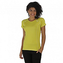 Regatta - Yellow Virda t-shirt