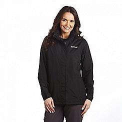 Regatta - Black midsummer waterproof jacket
