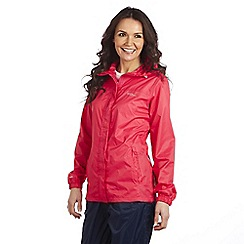 Regatta - Bright blush womens pack it jacket