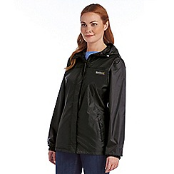 Regatta - Black womens pack it jacket