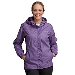 Regatta - Purple womens pack it jacket