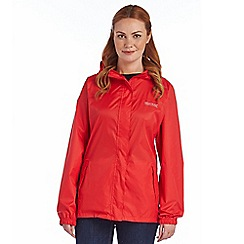 Regatta - Red womens pack it jacket