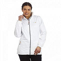 Regatta - White corinne waterproof jacket