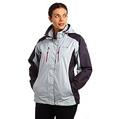 Regatta - Steel / iron womens calderdale waterproof jacket