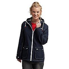 Regatta - Navy bayeux waterproof jacket