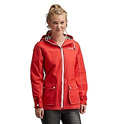Regatta - Red bayeux waterproof jacket