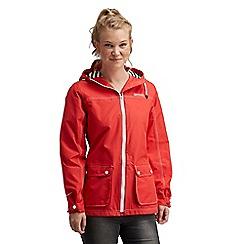 Regatta - Red bayeux waterproof jacket