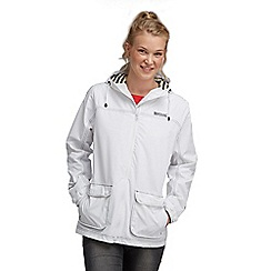 Regatta - White bayeux waterproof jacket