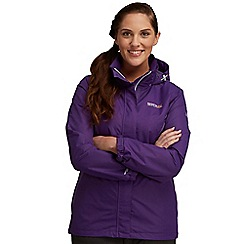 Regatta - Purple laurel waterproof jacket