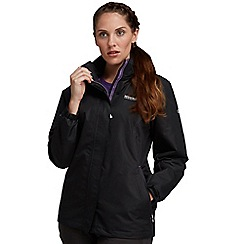 Regatta - Black laurel waterproof jacket