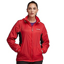 Regatta - Red corinne waterproof jacket