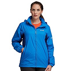 Regatta - Blue corinne waterproof jacket