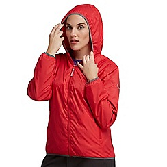 Regatta - Red womens lever waterproof jacket