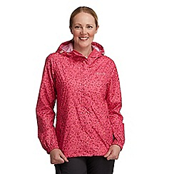 Regatta - Pink printed packit jacket