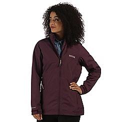 Regatta - Purple Daze waterproof jacket