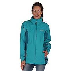 Regatta - Light blue daze waterproof jacket