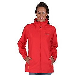 Regatta - Coral blush daze waterproof jacket