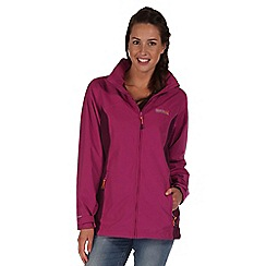 Regatta - Purple daze waterproof jacket