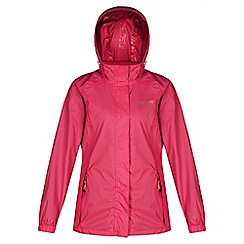 Regatta - Pink joelle waterproof jacket