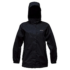 Regatta - Black joelle waterproof jacket