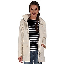 Regatta - White shayna longer length rain mac