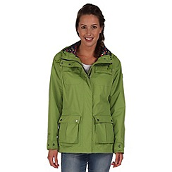 Regatta - Green nerine waterproof jacket