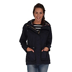 Regatta - Navy nerine waterproof jacket