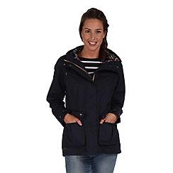 Regatta - Navy nerine waterproof jacket