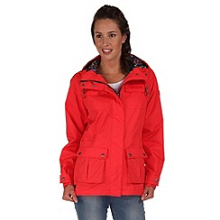 Regatta - Coral blush nerine waterproof jacket