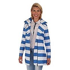Regatta - Strong blue grace waterproof jacket
