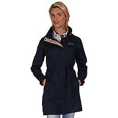 Regatta - Navy anthea waterproof mac