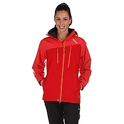Regatta - Red oklahoma waterproof jacket