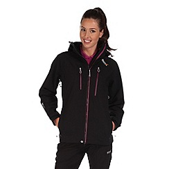 Regatta - Black oklahoma waterproof jacket