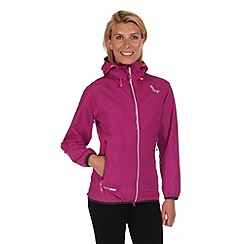 Regatta - Purple imber waterproof jacket